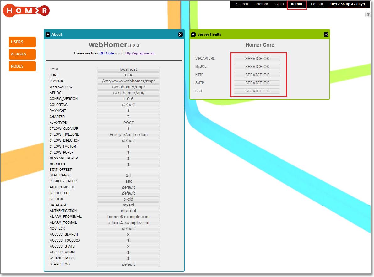 Installing and configuring Homer SIP capture server - debian