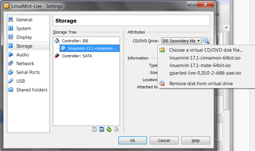 Installing full LinuxMint 17 1 to a removable USB drive with