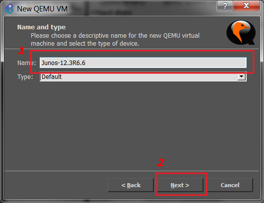How to run JunOS inside of GNS3 - step by step - NIL - Network