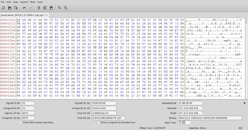 Uncompressing Cisco  cop sgn file - NIL - Network