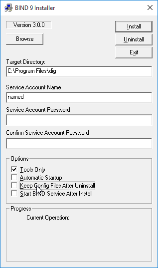 How to install DIG dns tool on windows 10 - NIL - Network